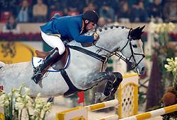 Philippaerts Ludo (BEL) - Parco<br /> CSI-W Mechelen 2001<br /> Photo © Dirk Caremans
