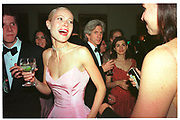 Gwyneth Paltrow; Richard Buckley, Vanity Fair Oscar night party. Mortons. Los Angeles. 28 March 1999. Film 9999188f19a<br /> © Copyright Photograph by Dafydd Jones 66 Stockwell Park Rd. London SW9 0DA<br /> Tel 0171 733 0108<br /> www.dafjones.com