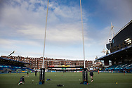 A general view of Cardiff Arms Park, home of Cardiff Blues<br /> <br /> Photographer Simon King/Replay Images<br /> <br /> Guinness PRO14 Round 15 - Cardiff Blues v Munster - Saturday 17th February 2018 - Cardiff Arms Park - Cardiff<br /> <br /> World Copyright &copy; Replay Images . All rights reserved. info@replayimages.co.uk - http://replayimages.co.uk