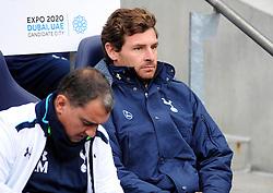 Tottenham Hotspur Manager, Andre Villas Boas - Photo mandatory by-line: Dougie Allward/JMP - Tel: Mobile: 07966 386802 24/11/2013 - SPORT - Football - Manchester - Etihad Stadium - Manchester City v Tottenham Hotspur - Barclays Premier League