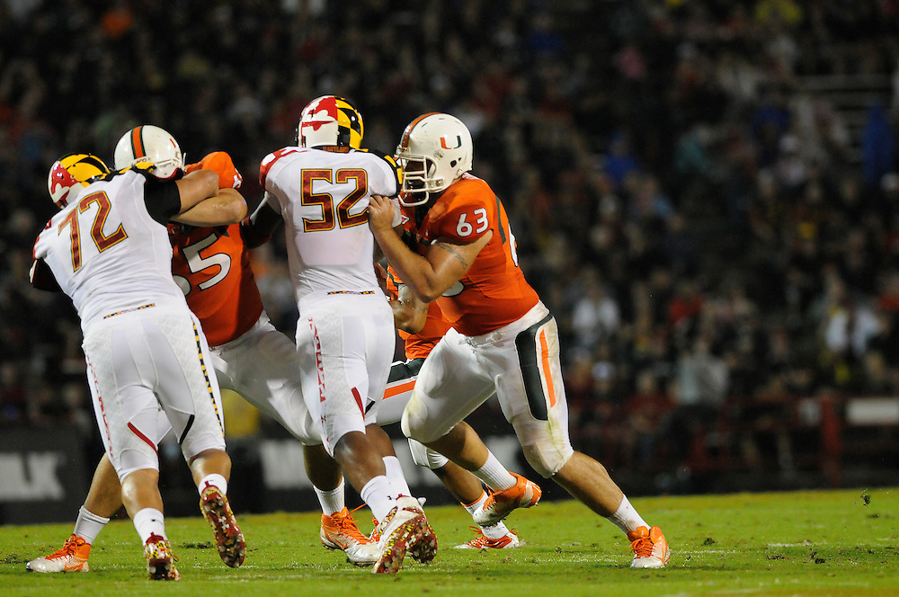 2011 Miami Hurricanes Football @ Maryland<br /> <br /> Tyler Horn