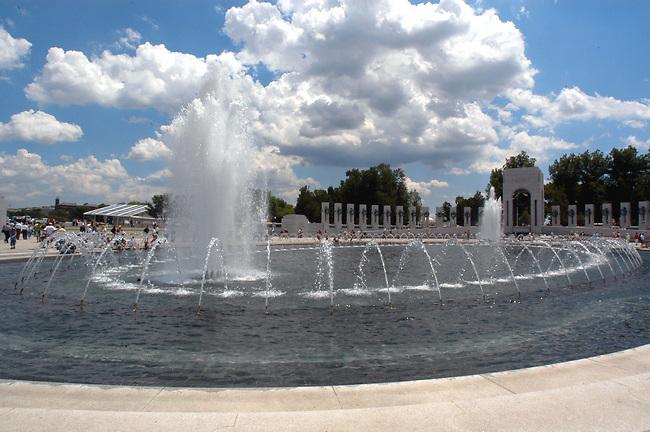 WWII Memorial Washington, D.C...( c ) 2004 Sandy Schaeffer