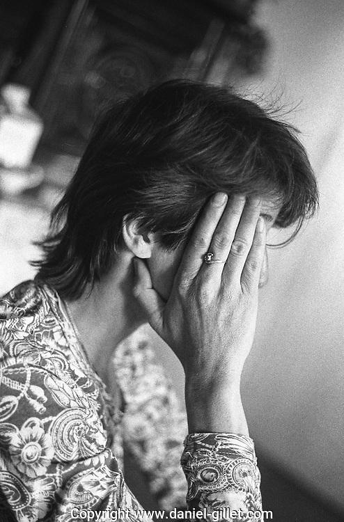 Portrait personnes victime de la precarite // portrait of woman