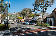 Downtown Laguna Beach on Broadway Street