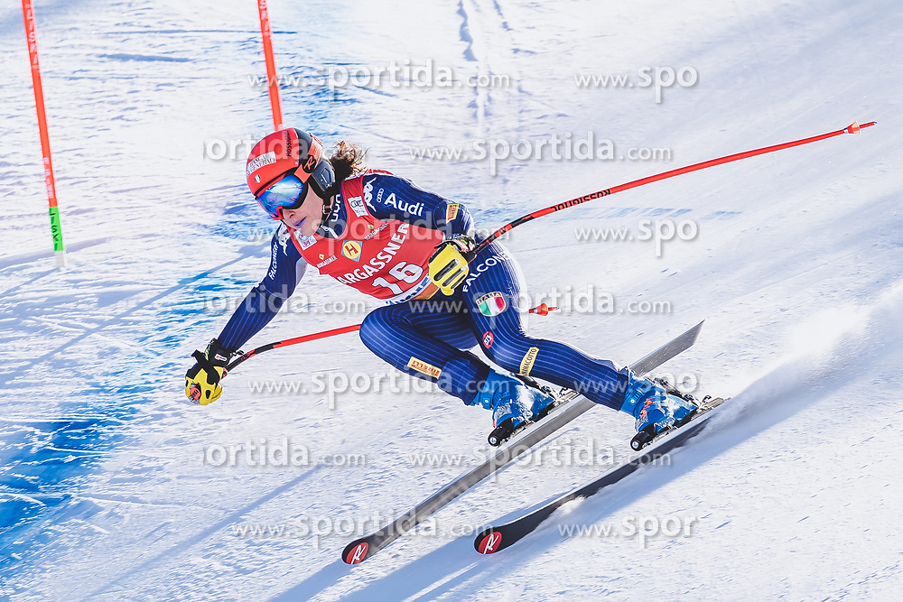 10.01.2020, Keelberloch Rennstrecke, Altenmark, AUT, FIS Weltcup Ski Alpin, Abfahrt, Damen, 2. Training, im Bild Federica Brignone (ITA) // Federica Brignone of Italy in action during her 2nd training run for the women's Downhill of FIS ski alpine world cup at the Keelberloch Rennstrecke in Altenmark, Austria on 2020/01/10. EXPA Pictures © 2020, PhotoCredit: EXPA/ Johann Groder