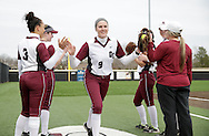 February 26, 2017: The University of Central Oklahoma Bronchos play against the Oklahoma Christian University Lady Eagles at Tom Heath Field at Lawson Plaza on the campus of Oklahoma Christian University.