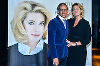 Remise du Prix Lumiere a Catherine Deneuve, 1ere femme a recevoir ce prix.<br /> Paul Belmondo & Luana Tenca<br /> <br /> Catherine Deneuve Receives 'Prix Lumiere 2016' Award - 8th Film Festival Lumiere In Lyon