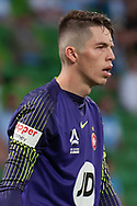 MELBOURNE, VIC - JANUARY 22: Western Sydney Wanderers goalkeeper Nick Suman (40) looks on at the Hyundai A-League Round 15 soccer match between Melbourne City FC and Western Sydney Wanderers at AAMI Park in VIC, Australia 22 January 2019. Image by (Speed Media/Icon Sportswire)