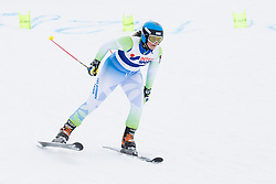 Saso Ales and Spela Micunovic of Slovenia during FIS World Cup Telemark Krvavec 2018, on February 8, 2018 in RTC Krvavec, Crklje na Gorenjskem, Slovenia. Photo by Urban Urbanc / Sportida