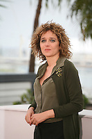 Director Valeria Golino at the Miele film photocall at the Cannes Film Festival 18th May 2013