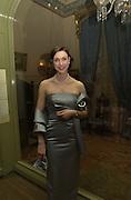 Rebecca Finelli. Museum of City of NY Benefit. 5th Ave, 103st. Manhattan.  New York. 8/2/2000<br />© Copyright Photograph by Dafydd Jones 66 Stockwell Park Rd. London SW9 0DA Tel 0171 733 0108 www.dafjones.com
