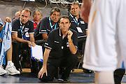 DESCRIZIONE : Madrid Spagna Spain Eurobasket Men 2007 Qualifying Round Germania Italia Germany Italy GIOCATORE : Carlo Recalcati <br /> SQUADRA : Nazioanle Italia Uomini Italy <br /> EVENTO : Eurobasket Men 2007 Campionati Europei Uomini 2007 <br /> GARA : Germania Italia Germany Italy <br /> DATA : 12/09/2007 <br /> CATEGORIA : Delusione <br /> SPORT : Pallacanestro <br /> AUTORE : Ciamillo&amp;Castoria/E.Castoria <br /> Galleria : Eurobasket Men 2007 <br /> Fotonotizia : Madrid Spagna Spain Eurobasket Men 2007 Qualifying Round Germania Italia Germany Italy Predefinita :