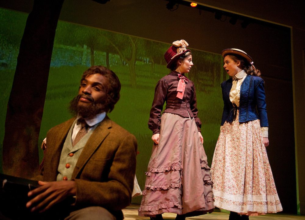 Marquette University's Performance of Sunday In The Park With George during the 2009/2010 season.