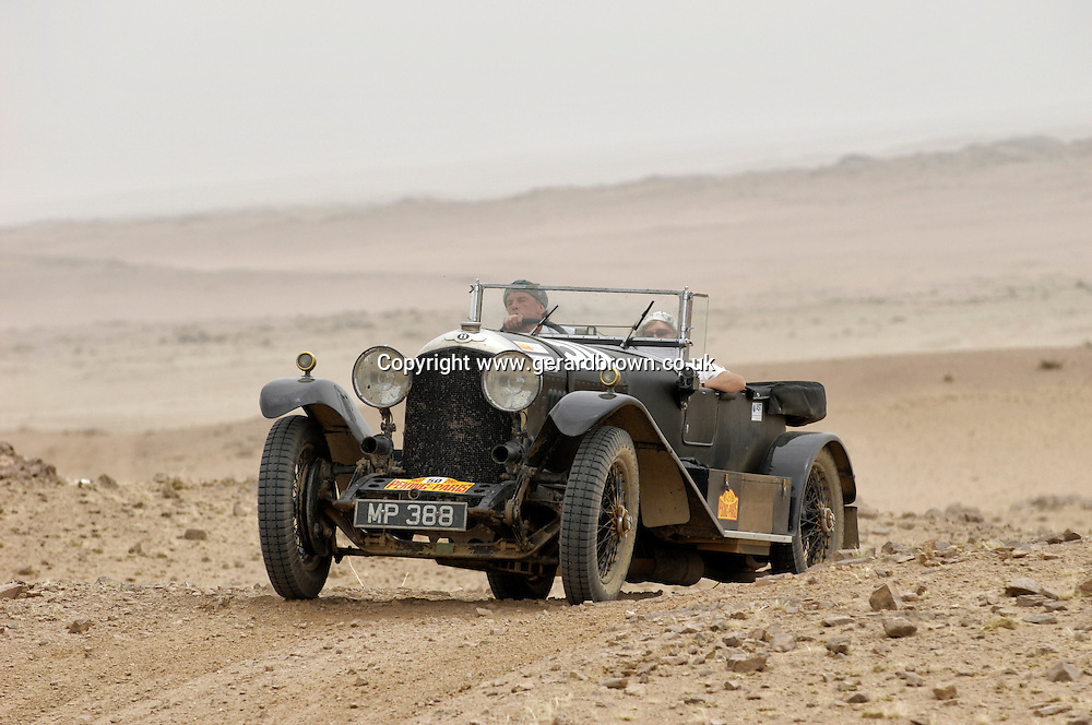 Car 50. 1927 Bentley Open Tourer.