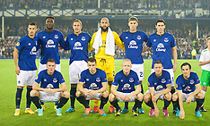 140918 Everton v Wolfsburg
