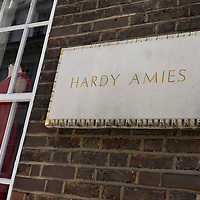 London Oct 1st Hardy Amies, the Savile Row tailor and former dressmaker to the Queen, was today involved in last-ditch talks in a bid to stave off administration.