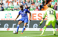 Diego Costa of Chelsea scores during the pre season friendly match at Weserstadion, Bremen, Germany.<br /> Picture by EXPA Pictures/Focus Images Ltd 07814482222<br /> 07/08/2016<br /> *** UK & IRELAND ONLY ***<br /> EXPA-EIB-160807-0248.jpg