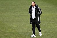 20120213: BRAGA, PORTUGAL - Coach Carlos Carvalhal at the Besiktas JK training session before UEFA Europe League match against SC Braga.<br /> PHOTO: CITYFILES