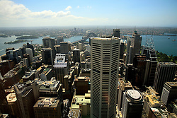 AUSTRALIA NEW SOUTH WALES SYDNEY 26FEB08 - View from Sydney Tower, the highest building with a viewing platform in Sydney, Australia..jre/Photo by Jiri Rezac..© Jiri Rezac 2008..Contact: +44 (0) 7050 110 417.Mobile:  +44 (0) 7801 337 683.Office:  +44 (0) 20 8968 9635..Email:   jiri@jirirezac.com..Web:    www.jirirezac.com..© All images Jiri Rezac 2008 - All rights reserved.