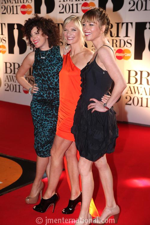 Annie Mac, Jo Whiley and Sara Cox