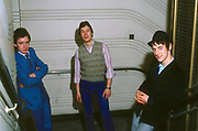 The Jam photosession  - Bruce Foxton, Rick Buckler, Paul Weller - London1978