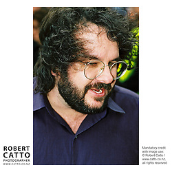 Peter Jackson at the Lord Of The Rings: Fellowship Of The Ring Premiere at the Embassy Theatre, Wellington, New Zealand.<br />