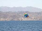 Israel, Eilat Red Sea, Para gliding
