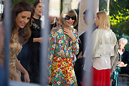 Anna Wintour at Gucci SS2018