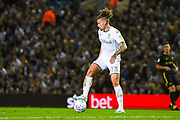 Leeds United midfielder Kalvin Phillips (23) during the EFL Sky Bet Championship match between Leeds United and Brentford at Elland Road, Leeds, England on 21 August 2019.