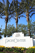 Pacific Center Monument in Anaheim