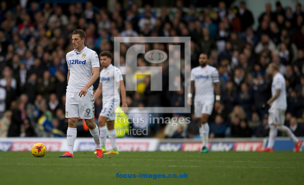Leeds United players have a look of disappointment after going 2-0 down during the Sky Bet Championship match at Elland Road, Leeds<br /> Picture by Russell Hart/Focus Images Ltd 07791 688 420<br /> 20/11/2016