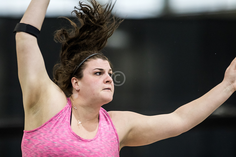 USATF Indoor Track & Field Championships: womens shot put, Daniella Bunch