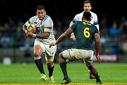 Siya Kolisi (captain) of South Africa looks to tackle Nathan Hughes of England- Mandatory by-line: Steve Haag/JMP - 23/06/2018 - RUGBY - DHL Newlands Stadium - Cape Town, South Africa - South Africa v England 3rd Test Match, South Africa Tour
