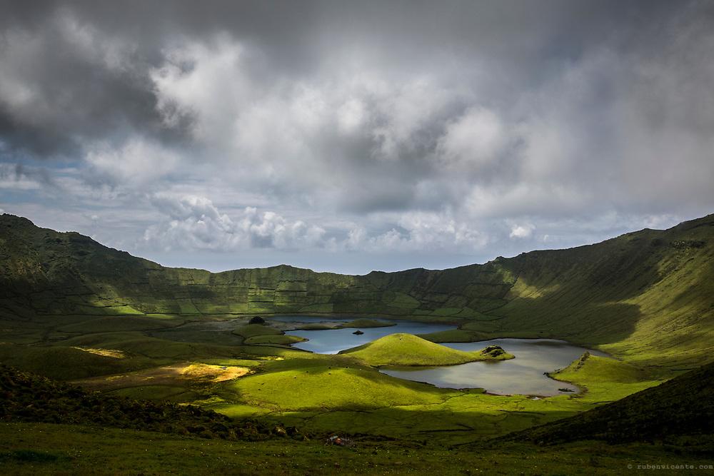 Corvo Caldera. Azores, Portugal