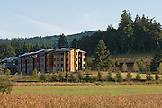 The Allison Inn & Spa blends naturally into the lush beauty of Oregon Wine Country's, Willamette Valley, Newberg, Oregon