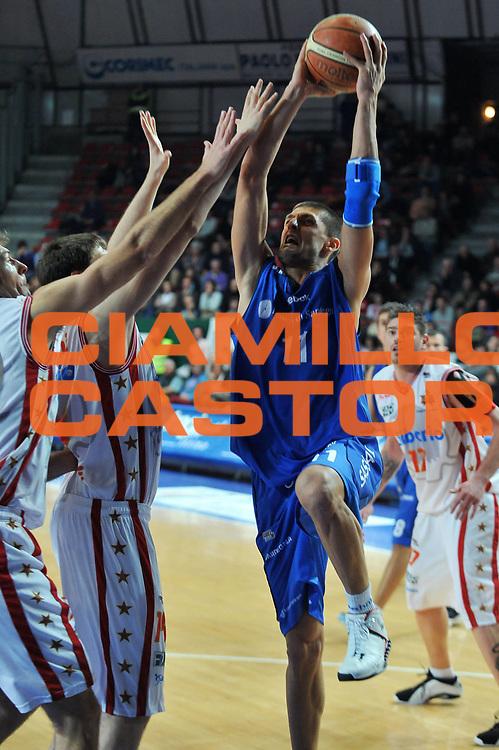 DESCRIZIONE : Varese Lega A2 2008-09 Cimberio Varese Banco di Sardegna Sassari<br /> GIOCATORE : Luigi Dordei<br /> SQUADRA : Banco di Sardegna Sassari<br /> EVENTO : Campionato Lega A2 2008-2009<br /> GARA : Cimberio Varese Banco di Sardegna Sassari<br /> DATA : 29/11/2008<br /> CATEGORIA : Tiro<br /> SPORT : Pallacanestro<br /> AUTORE : Agenzia Ciamillo-Castoria/A.Dealberto<br /> Galleria : Lega Basket A2 2008-2009<br /> Fotonotizia : Varese Campionato Italiano Lega A2 2008-2009 Cimberio Varese Banco di Sardegna Sassari<br /> Predefinita :