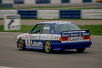 #4 Tim Harvey BMW Team Labatt's BMW M3  during Round 1of the 1991 British Touring Car Championship at Silverstone, Towcester, Northamptonshire, United Kingdom. 1st April 1991, World Copyright Peter Taylor/PSP. Copy of publication required for printed pictures.