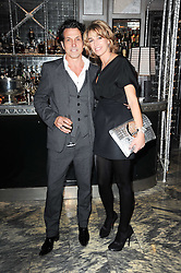 STEPHEN & ASSIA WEBSTER at a dinner hosted by Ruinart in honour of Amanda Wakely at The Connaught, Carlos Place, London on 20th October 2010.