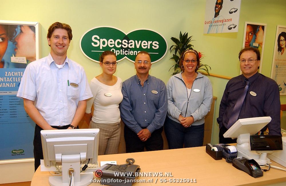 Specsaver Opticien Roelantdreef 298 Utrecht, eigenaar Marc Smit en personeel