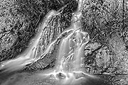Waterfall<br /> Along the Stewart-Cassiar Highway<br /> British Columbia<br /> Canada