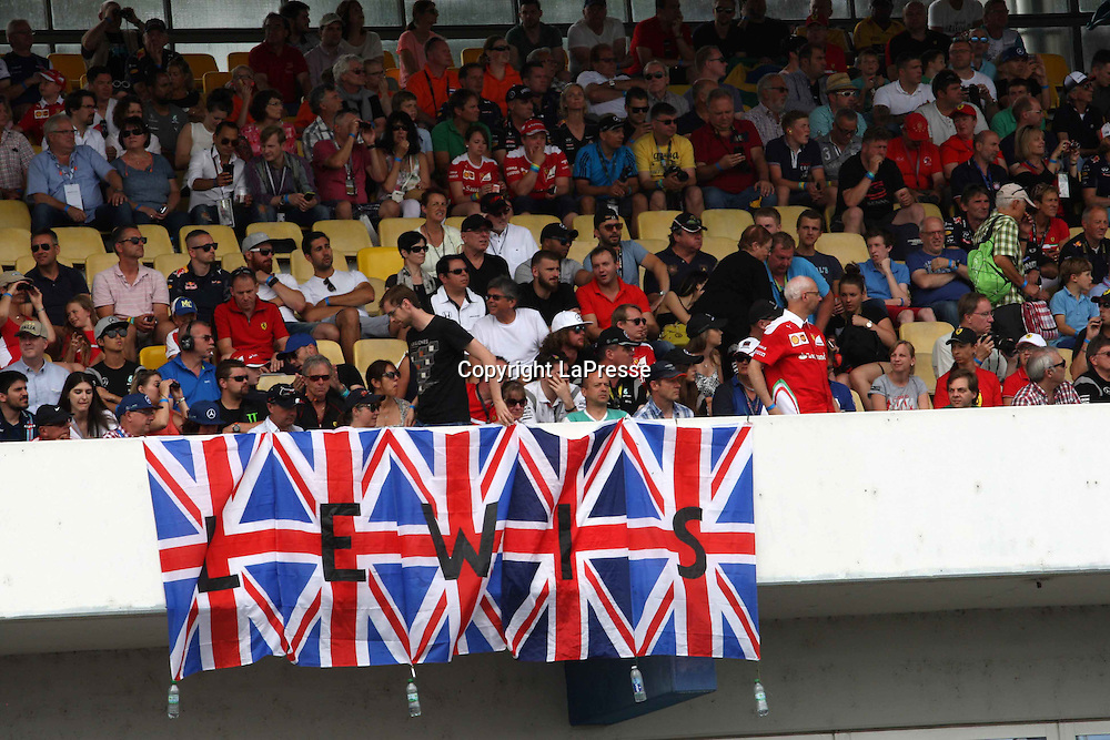 &copy; Photo4 / LaPresse<br /> 31/07/2016 Hockenheim, Germany<br /> Sport <br /> Grand Prix Formula One Germany 2016<br /> In the pic: Fans