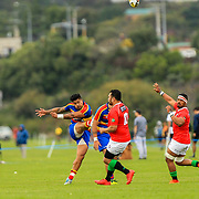 Swindale Shield Rugby union game between Tawa v Marist St Patricks (MSP), played Awakairangi<br /> Park, Upper Hutt, New Zealand on 17 March 2018.  MSP won 35-29.