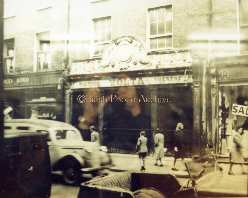 Old Dublin Amature Photos 194s WITH, Old Shop, Kilmainham, Inchicore Post Office, James St, Church, Parlement St, Drumcondra Park Old Shop, Volta Cinema 1940s