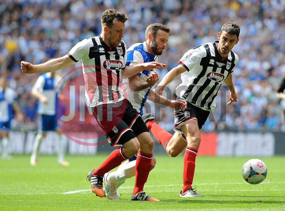 Bristol Rovers' Andy Monkhouse - Photo mandatory by-line: Neil Brookman/JMP - Mobile: 07966 386802 - 17/05/2015 - SPORT - football - London - Wembley Stadium - Bristol Rovers v Grimsby Town - Vanarama Conference Football