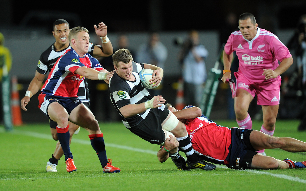 Hawkes Bays' Bredon O'Connor against Tasman in the ITM Cup Championship Final at Trafalgar Park, Nelson, New Zealand, Friday, October 25, 2013. Credit:SNPA / Ross Setford