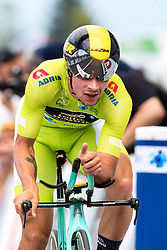 Primoz Roglic of Team Lotto NL Jumbo during 5th Time Trial Stage of 25th Tour de Slovenie 2018 cycling race between Trebnje and Novo mesto (25,5 km), on June 17, 2018 in  Slovenia. Photo by Matic Klansek Velej / Sportida