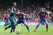 Crystal Palace v Southampton - 16 Sept 2017
