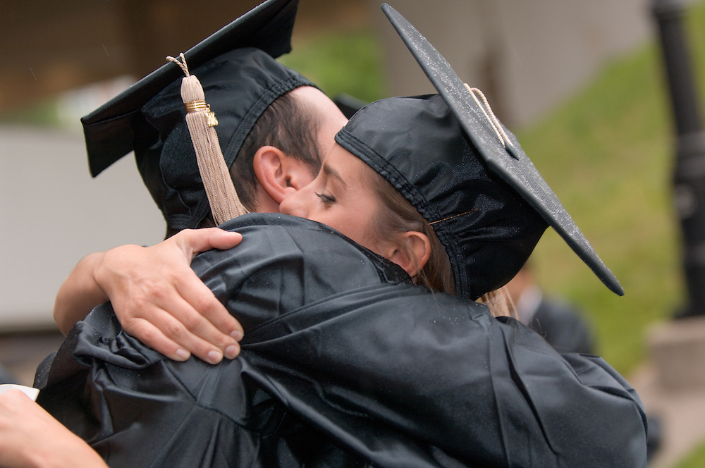 17716Undergraduate Commencement 2006...Amy Tirimacco & Dylan Shammakian