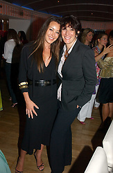24 May 2006 - TAMARA MELLON and GHISLAINE MAXWELL at a party hosted by Elizabeth Saltzman and Harvey Nichols to celebrate the UK launch of New York fashion designer Tory Burch held at the Fifth Floor Restaurant, Harvey Nichols, Knightsbridge, London on 24th May 2006.<br /> <br /> Photo by Dominic O'Neill/Desmond O'Neill Features Ltd.  +44(0)1306 731608  www.donfeatures.com