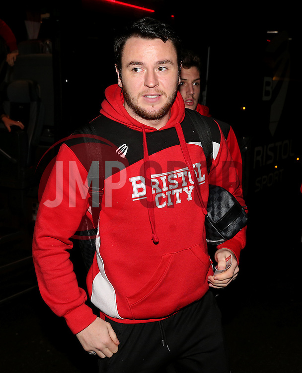 Lee Tomlin of Bristol City arrives at Highbury Stadium- Mandatory by-line: Matt McNulty/JMP - 17/01/2017 - FOOTBALL - Highbury Stadium - Fleetwood,  - Fleetwood Town v Bristol City - Emirates FA Cup Third Round Replay